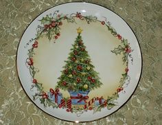 Pink Saturday and Some Christmas Porcelain! Christmas China, Christmas Dishes, Christmas Tablescapes, Christmas Art, Vintage Christmas, Christmas Decorations, Christmas Ornaments, Xmas, China Painting
