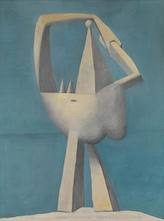 Pablo Picasso - Nude Standing by the Sea [1929]