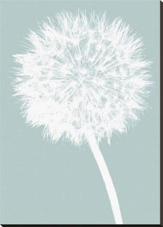 dandelion painting | Photos to Art Canvas Acrylic Mounting Framing Prints Pop Art Canvas