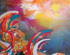 BIOMORPHIC PAINTINGS » Colin Goldberg Artwork