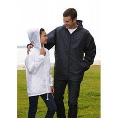 Pacific Blue, Hoods, Hooded Jacket, Chef Jackets, Rain Jackets, Windbreaker, Raincoat, Zip, Jacket With Hoodie