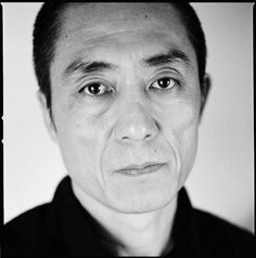 """Zhang Yimou. """"To do art, one thing should always remember - subjects of people in misery have deep meanings."""""""