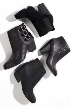 Chic Black Booties