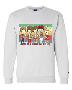 One Direction Cartoon Sweatshirt Crewneck OR Hoodie by StylesShop, $30.00 HEAVENN<33