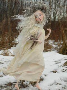 Doll artist Evgeniya Valkova