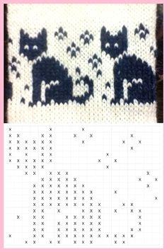 Der Neuen : Katten breipatroon voor eerlijke eiland, patroon breien, #breien #breipatroon #eerlijke #eiland #katten #patroon