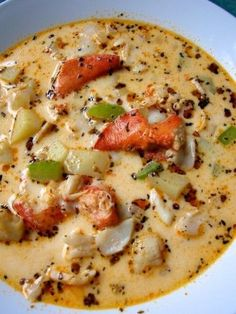 SOUPS AND STEWS on Pinterest | Lobster Bisque, Soups and Chowders