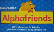 All the Alphafriends, with link to Starfall