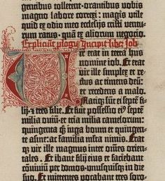 A page from the Gutenberg Bible by MGL, via Flickr