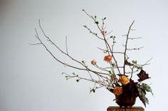 Ikebana: Riley Messina and Erba Floral Studio Phot by P. H. Fiztgerald