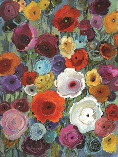 Obraz Kompozycja z kwiatów - DECORTIS.COM