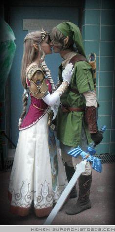 Zelda and Link  <3