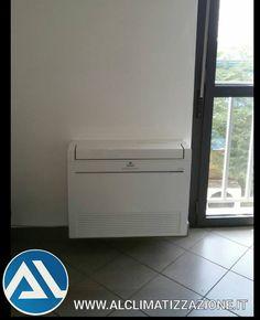 Tel.030.2711758 Cell.366.95.95.001 #Climatizzatori_a_pavimento DC Inverter - #POMPA_DI_CALORE Serie #MFZ_KJ  Ufficio Tecnico di GUSSAGO (BS)