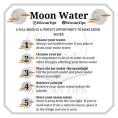 Have you ever made moon water? Tonight is a perfect opportunity to make some moon water charged with the super snow moon! Read more about… Witchcraft Books, Green Witchcraft, Wiccan Witch, New Moon Rituals, Full Moon Ritual, Moon Spells, Magick Spells, Moon Witch, Witch Spell