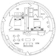 Earthbag House Plans