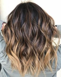 Balayage on virgin hair. Toned by Used all ombre hair Balayage on virgin hair. Toned by Used all ombre hair Ombre Hair Color For Brunettes, Brunette Color, Hair Colour Ideas For Brunettes, Brown Hair Balayage, Hair Color Balayage, Balayage Highlights, Brunette Ombre Balayage, Balayage Hair Dark Short, Balayage Hair Brunette Caramel