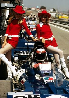 Those were the days! I'm guessing that's Jackie Stewart
