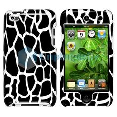 For Apple iPod Touch Gen Black Giraffe Animal Print Full Hard Case Cover Ipod Cases, Ipod Touch, Giraffe, Lunch Box, Apple, Cover, Animals, Ebay, Black
