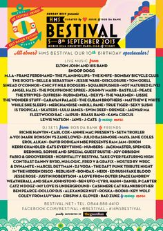 Bestival 2013... it will be huge, be there! We deliver advertising campaigns throughout the UK and Europe, but we also welcome enquiries from around the globe too! For all of your advertising needs at unbeatable rates - www.adsdirect.org.uk