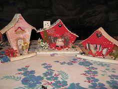 Shanty style putz houses - ebay