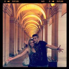 Jesse and Jeana at Melbourne, Australia.