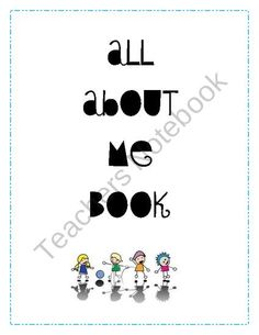 All About Me Memory Book from Third Grade Love on TeachersNotebook.com (9 pages)