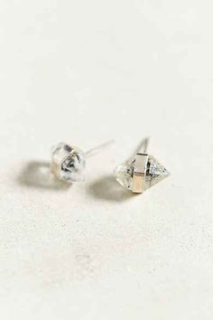 Better Late Than Never Herkimer Stud Earring