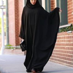 Niqab Fashion, Modest Fashion Hijab, Modern Hijab Fashion, Islamic Fashion, Hijab Style Dress, Muslim Fashion, Mode Abaya, Mode Hijab, Farasha Abaya