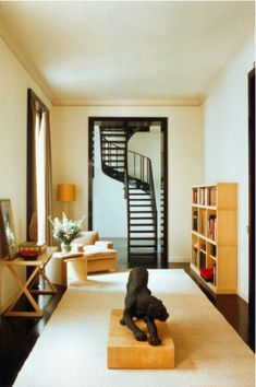 apartment of giorgio armani by peter marino.  1989.
