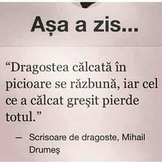 Dragostea Let Me Down, Let It Be, R Words, Mixed Emotions, True Quotes, Motto, Breakup, Falling In Love, Literature