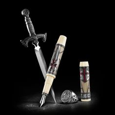 "Jacques De Molay ""The Last Knight Templar"" Fountain Pen // Limited ..."