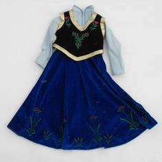 Deep Snow Dress Inspired By Frozens ToddlerWithScissors 13500