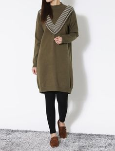Women winter spring Casual knitted dress Japanese/Korean Fashion #Unbranded