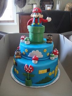 100 Awesome, Terrifying, And Endearing Super Mario Cakes