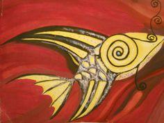 Stylized fish, (stilizált hal) - 2005