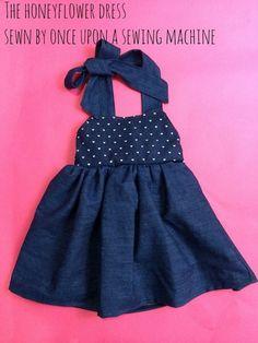 The Honeyflower dress PDF dress pattern