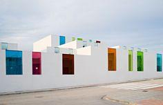 ALEJANDRO MUÑOZ Chaparral Kindergarden | Javier Callejas Architecture Photography