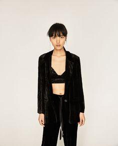 Image 2 of VELVET TOP from Zara