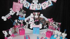 Puppy Party Package for 10 by DreamComeTrueParties on Etsy, $140.00