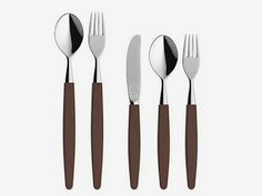 """Skaugum bestikk, """"Nature kebony"""". Norwegian Wood, Wonderful Things, Kitchen Dining, Home Accessories, Tableware, Cutlery, Norway, Objects, Nature"""