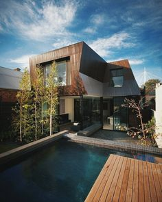 Malaysian Home house architecture pool Kings Lair