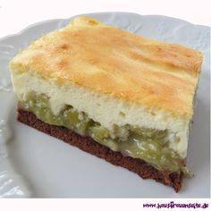 Rhabarber-Quark-Kuchen vom Blech