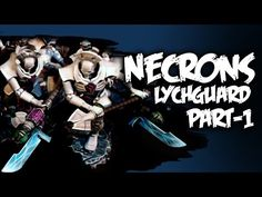 How To Paint Necron Lychguard - Part 1 - YouTube