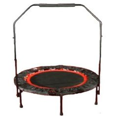 Urban Rebounder Folding Trampoline Workout System+++++in the winter the kids can jump on it until they get out all their cabin fever!:)