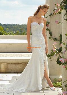 Trumpet/Mermaid Spring 2014 Sleeveless Wedding Dresses 2014