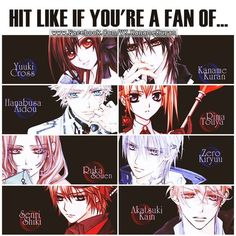 Vampire Knight || Love them all <3