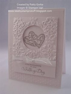 Wedding Hearts by LaLatty - Cards and Paper Crafts at Splitcoaststampers