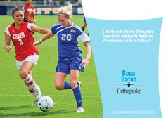 A directory featuring Orthopedic Specialists and Sports Medicine Practitioners in Boca Raton, FL. #bocaraton #sportsmedicine #kneesurgerybocaraton #hipreplacementbocaraton