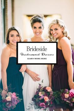 Find the perfect bridesmaid dresses at @brideside.