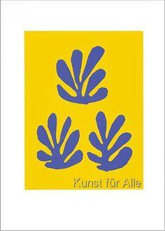 Henri Matisse - Couverture du catalogue, 1951